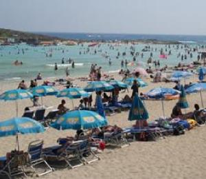 South Cyprus beach