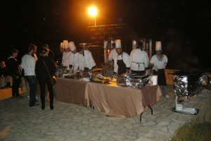 the food stand
