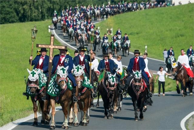 Pentecost Ride Bavaria