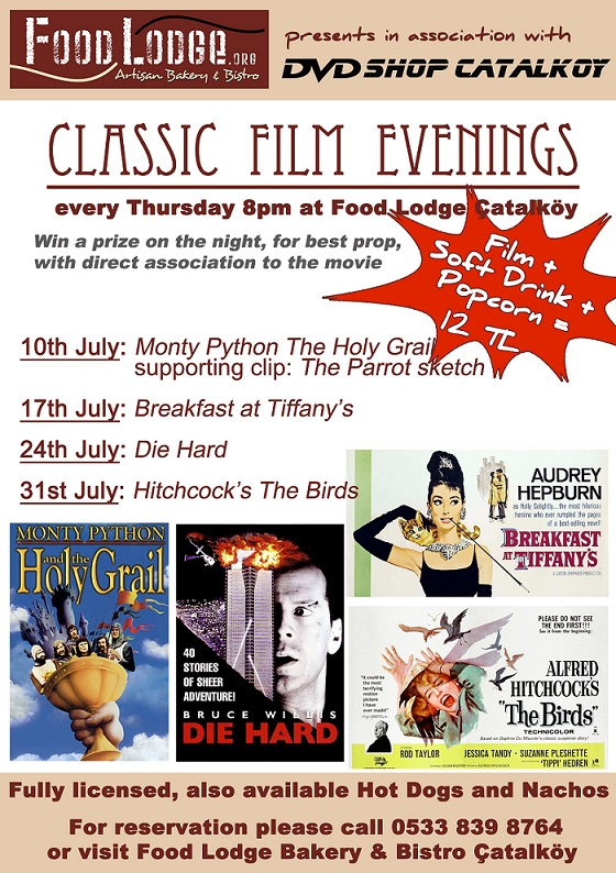 Food Lodge Film Night