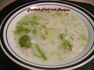 chicken broccoli soup
