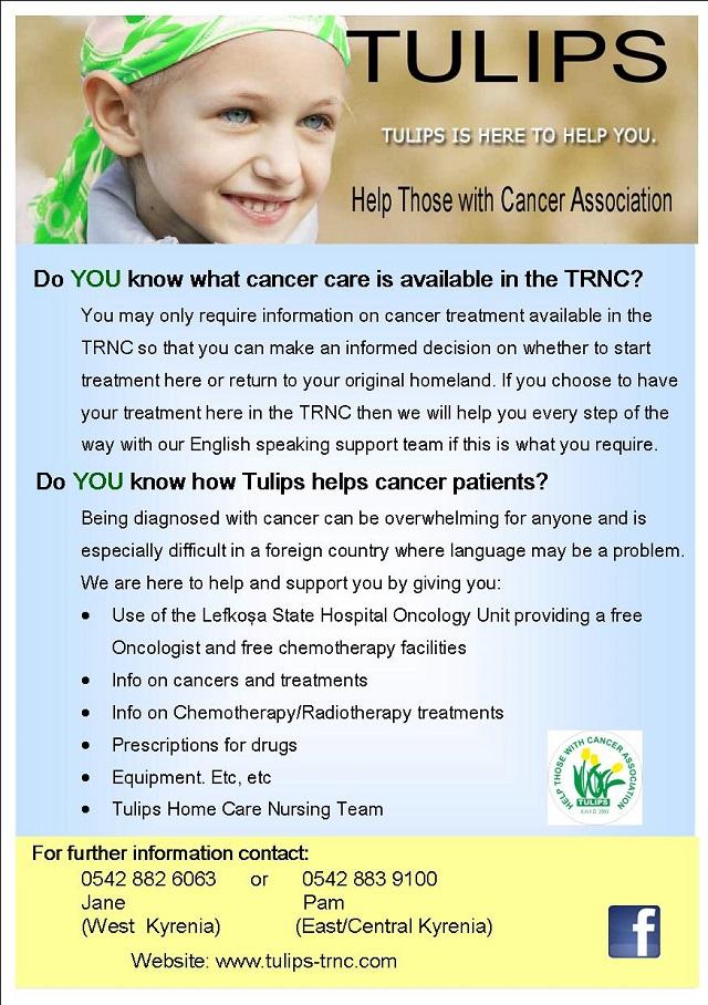 Cancer information leaflet- Jan 2015 P1
