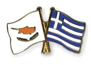 Cyprus and Greece Flag