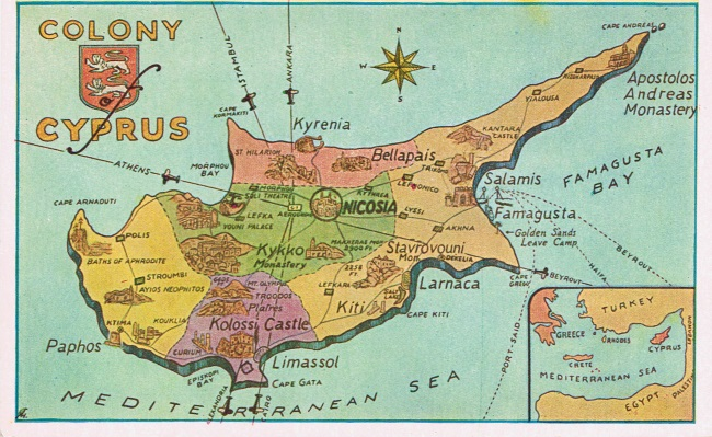 Cyprus History Nicosia to Kyrenia The Convoy Memories of the
