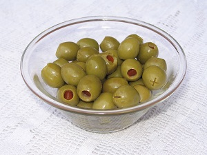 Olives stuffed