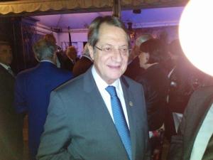 Southern Cypriot President, Nicos Anastasiades