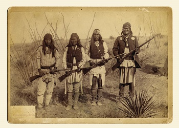 Geronimo 2nd left