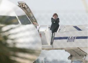 Hijacked Plane in Larnaca