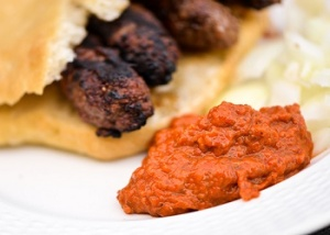 BBQ Ajvar honey sauce