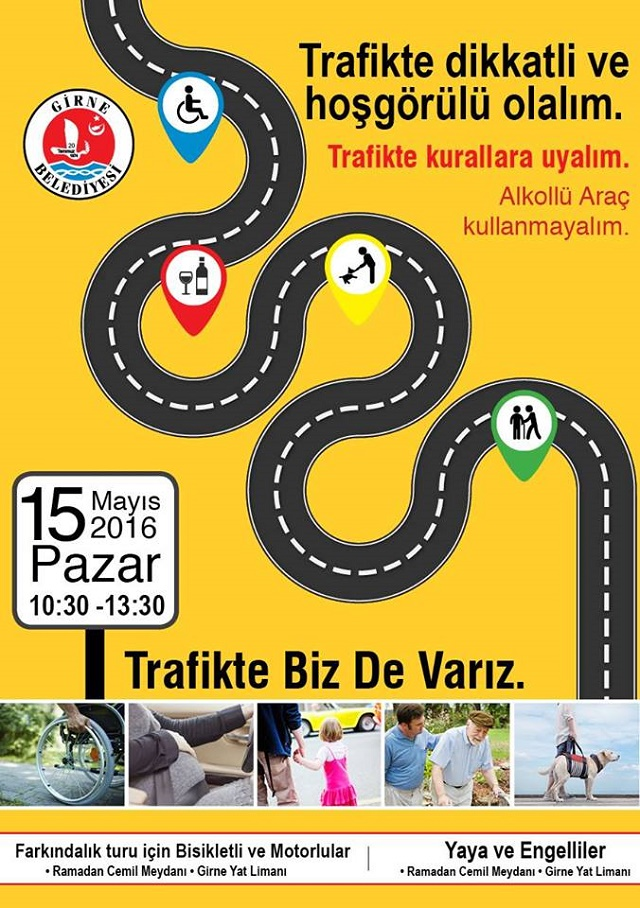 Girne traffic Awarenes Day 2016