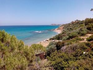 the future public beach in Alsancak
