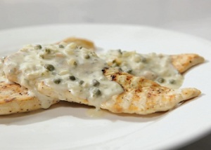 BBQ Capers White Wine sauce