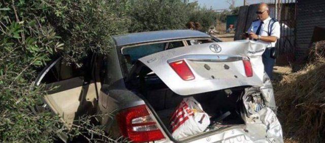 Damaged TC Car