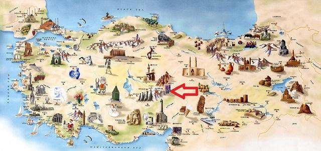 turkey-tourist-map