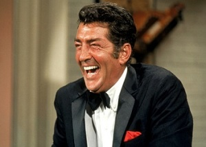 """HOLLYWOOD, CA - 1967: Dean Martin during the taping of """"The Dean Martin Variety Show"""" circa 1967 in Hollywood, Califorina. (Photo by Martin Mills/Getty Images) *** Local Caption *** Dean Martin"""